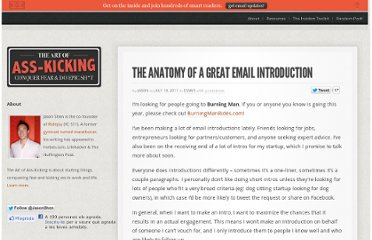 http://www.jasonshen.com/2011/the-anatomy-of-a-great-email-introduction/