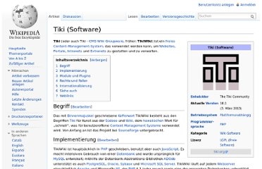 http://de.wikipedia.org/wiki/Tiki_(Software)