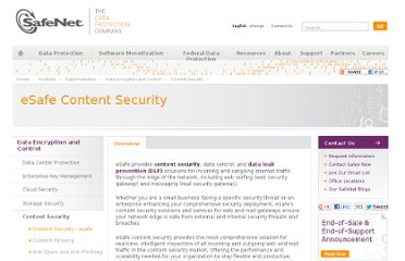 http://www.safenet-inc.com/data-protection/content-security-esafe/