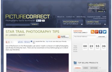 http://www.picturecorrect.com/tips/star-trail-photography-tips/