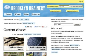 http://brooklynbrainery.com/courses