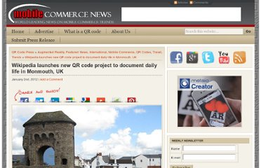 http://www.qrcodepress.com/wikipedia-launches-new-qr-code-project-to-document-daily-life-in-monmouth-uk/855826/