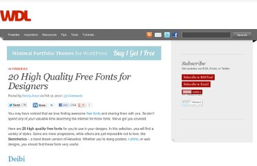 http://webdesignledger.com/freebies/20-high-quality-free-fonts-for-designers