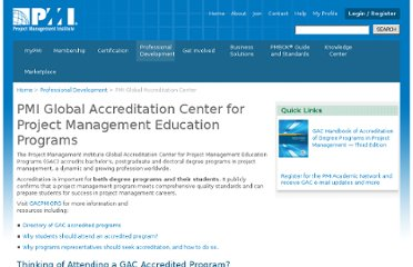 http://www.pmi.org/Professional-Development/Global-Accreditation-Center.aspx