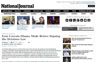http://www.nationaljournal.com/whitehouse/four-caveats-obama-made-before-signing-the-detainee-law-20120103
