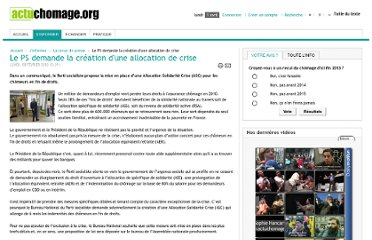 http://www.actuchomage.org/2010020810541/La-revue-de-presse/le-ps-demande-la-creation-dune-allocation-de-crise.html