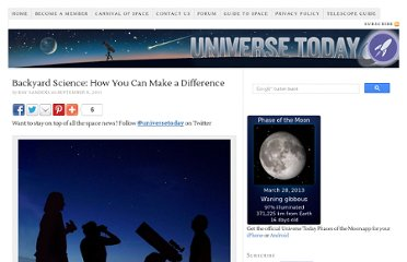 http://www.universetoday.com/87954/backyard-science-how-you-can-make-a-difference/