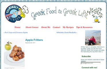 http://seeminglygreek.com/2011/09/apple-fritters/