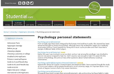 http://www.studential.com/personalstatements/getpscourse.asp?type=40