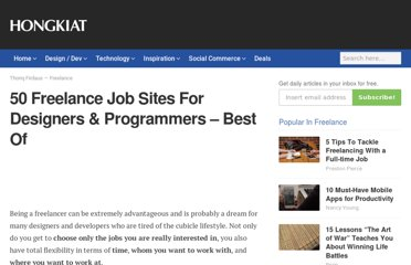 http://www.hongkiat.com/blog/50-freelance-job-sites-for-designers-programmers-best-of/