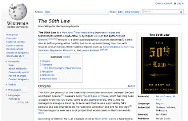 http://en.wikipedia.org/wiki/The_50th_Law