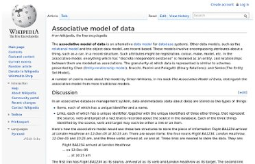 http://en.wikipedia.org/wiki/Associative_model_of_data