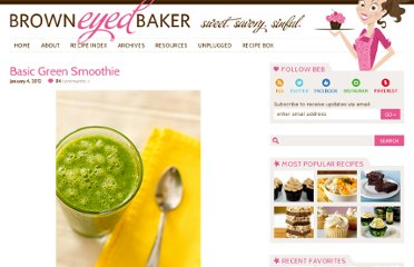http://www.browneyedbaker.com/2012/01/04/green-smoothie-recipe/