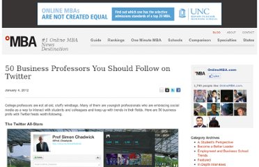 http://www.onlinemba.com/blog/50-business-professors-you-should-follow-on-twitter/