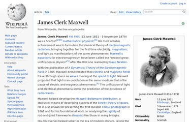 http://en.wikipedia.org/wiki/James_Clerk_Maxwell
