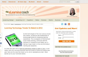 http://theelearningcoach.com/elearning2-0/learning-technology-trends-for-2012/