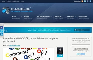 http://www.qualiblog.fr/outils-et-methodes/methode-qqoqccp-outil-analyse-simple-et-performant/