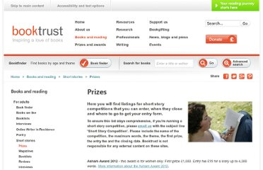 http://www.booktrust.org.uk/books-and-reading/short-stories/prizes/