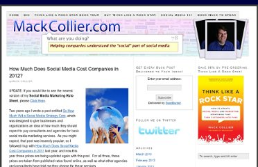 http://www.mackcollier.com/cost-of-social-media-in-2012/