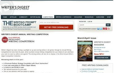http://www.writersdigest.com/competitions/writers-digest-annual-competition