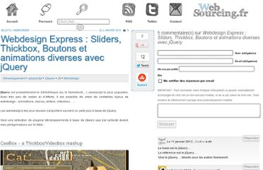 http://blog.websourcing.fr/webdesign-express-sliders-thickbox-boutons-animations-diverses/