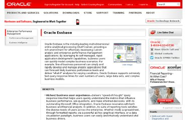 http://www.oracle.com/us/solutions/ent-performance-bi/essbase-066549.html
