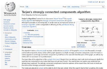 http://en.wikipedia.org/wiki/Tarjan%27s_strongly_connected_components_algorithm