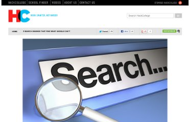 http://www.hackcollege.com/blog/2011/10/26/5-search-engines-for-finding-specialized-content.html