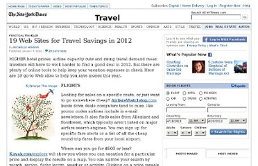 http://travel.nytimes.com/2012/01/08/travel/19-web-sites-for-travel-savings-in-2012.html