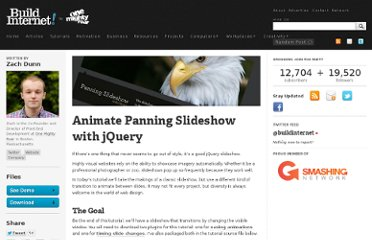 http://buildinternet.com/2010/02/animate-panning-slideshow-with-jquery/