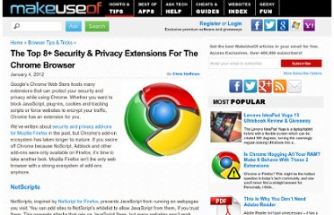 http://www.makeuseof.com/tag/top-8-security-privacy-extensions-chrome-browser/