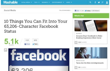 http://mashable.com/2012/01/04/facebook-character-limit/