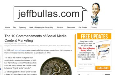 http://www.jeffbullas.com/2012/01/05/the-10-commandments-of-social-media-content-marketing/