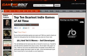 http://gamingbolt.com/top-ten-scariest-indie-games-of-all-time