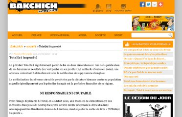 http://www.bakchich.info/societe/2010/02/20/totale-impunite-57168