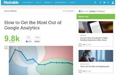 http://mashable.com/2012/01/04/google-analytics-guide/