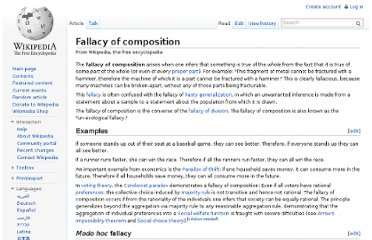 http://en.wikipedia.org/wiki/Fallacy_of_composition