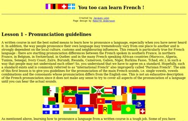http://www.jump-gate.com/languages/french/french1.html