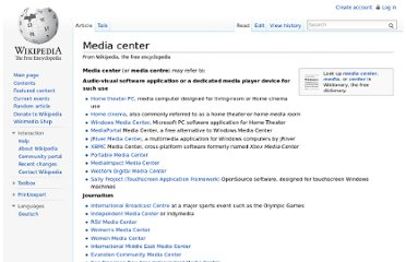 http://en.wikipedia.org/wiki/Media_center