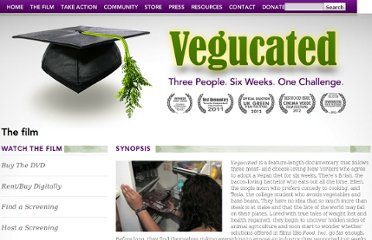 http://www.getvegucated.com/the-film/synopsis/