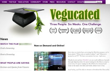 http://www.getvegucated.com/news/now-on-demand-and-online/