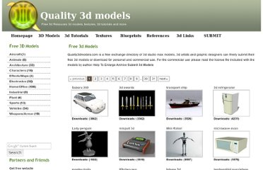 http://www.quality3dmodels.net/categories/