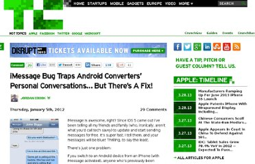 http://techcrunch.com/2012/01/05/imessage-bug-traps-android-converters-personal-conversations-but-theres-a-fix/