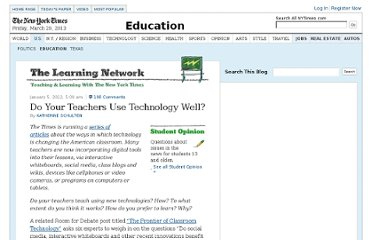 http://learning.blogs.nytimes.com/2012/01/05/do-your-teachers-use-technology-well/