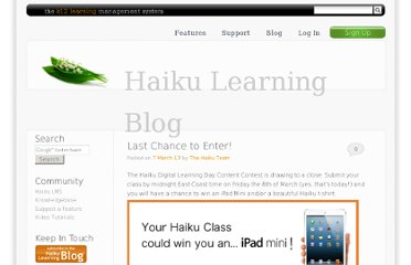 http://www.haikulearning.com/blog/