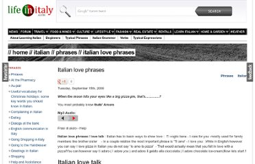 http://www.lifeinitaly.com/italian/love-phrases