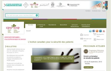 http://www.patientsafetyinstitute.ca/french/Pages/default.aspx