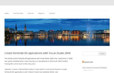 http://www.console-dev.de/2009/09/03/create-nintendo-ds-applications-with-visual-studio-2008/