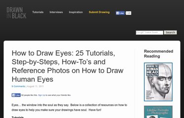 http://www.drawninblack.com/2011/08/how-to-draw-eyes-25-tutorials-step-by-steps-how-tos-and-reference-photos-on-how-to-draw-human-eyes/