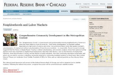http://www.chicagofed.org/webpages/events/2011/neighborhoods_and_labor_markets.cfm